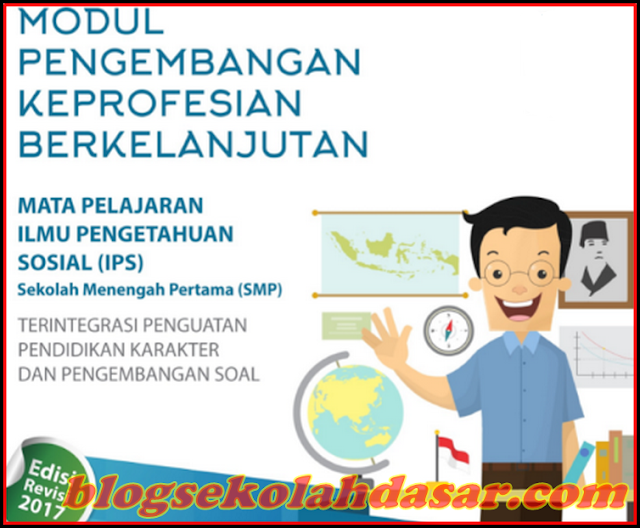Download Modul PKB IPS SMP Revisi 2017