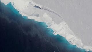 Un estudio de la NASA advierte que el glaciar más peligroso del mundo se está desintegrando.