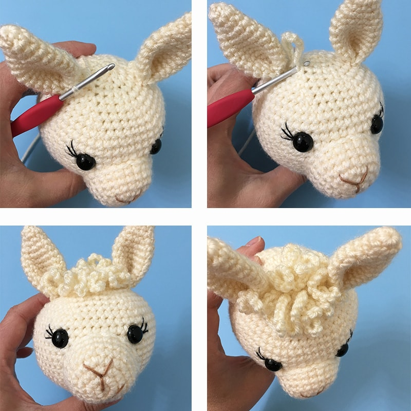 Free Crochet Llama Toy Pattern | The WHOot | 800x800