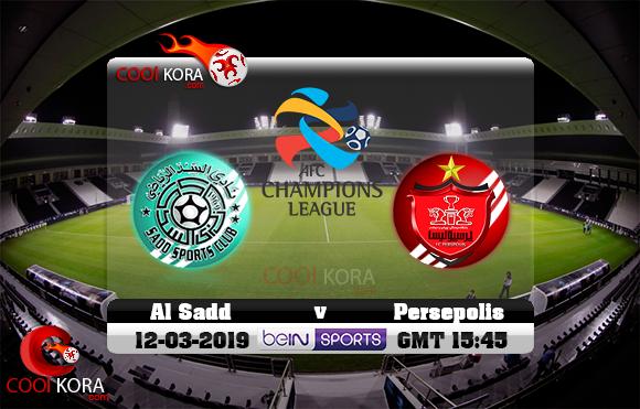 مشاهدة مباراة السد وبیرسبولیس اليوم 12-3-2019 في دوري أبطال آسيا