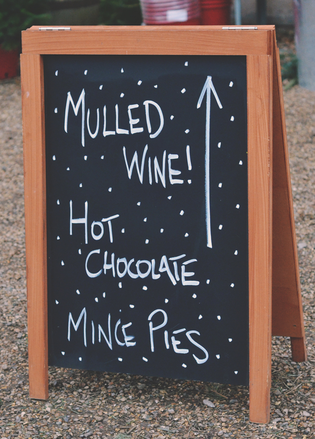 Mulled Wine Sign