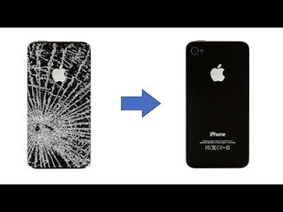 hoan thien thay mat kinh sau iphone 4s