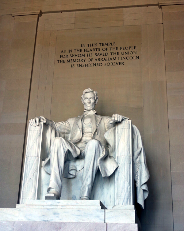 The Lincoln Memorial - Washington, D.C. - Tori's Pretty Things Blog