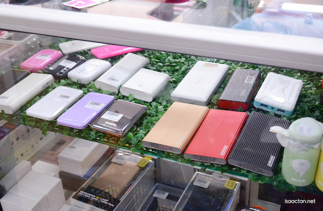Powerbanks, all types, sizes and capacity