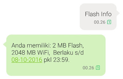 Cara Cek Kuota Internet Telkomsel Simpati, Flash, Loop Via SMS