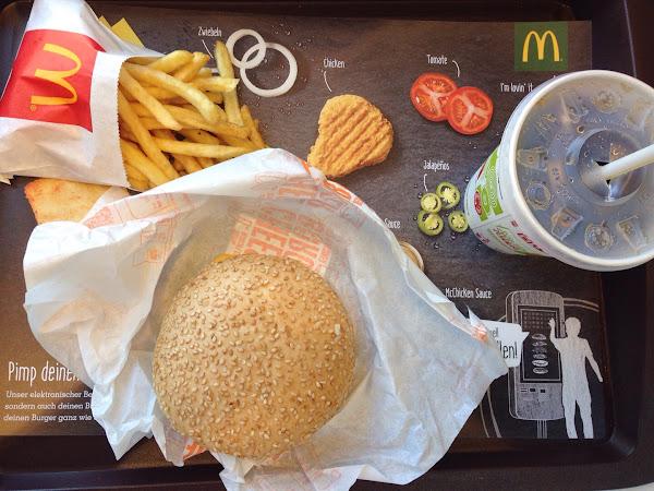 glutenfreie Burger ab jetzt bei McDonald's Österreich