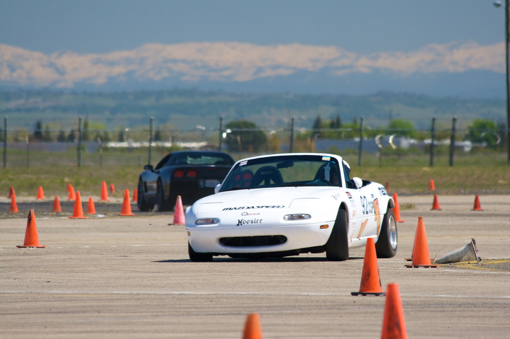 Mazda MX-5, Miata, Eunos Roadster, tuning, kultowy, legendarny, 日本車, スポーツカー, オープンカー, マツダ, NA, wyścigi, autocross, KJS, Jinba Ittai