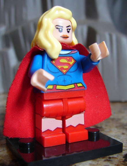 toyriffic bootleg lego supergirl superman and brainiac