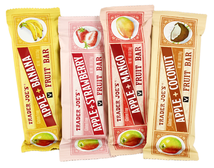 Trader Joes Fruit Bars