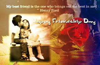 Friendship Day 2016 Cute Images With Quotation