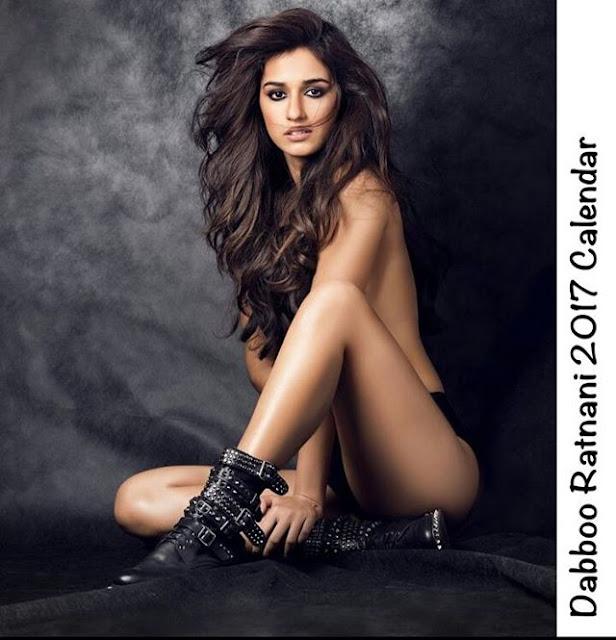 daboo ratanani calendar 2017 - Disha Patani goes topless