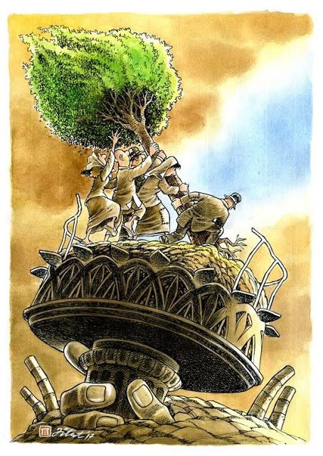 Jitet Koestana_4th Kalder Bursa International Cartoon Contest 2017, Turkey