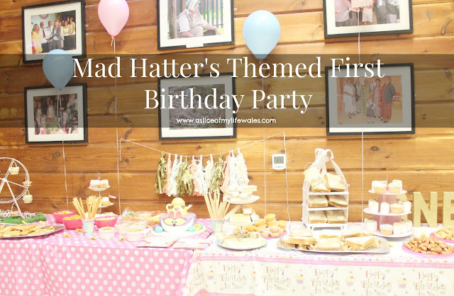 mad hatter's tea party first birthday party theme