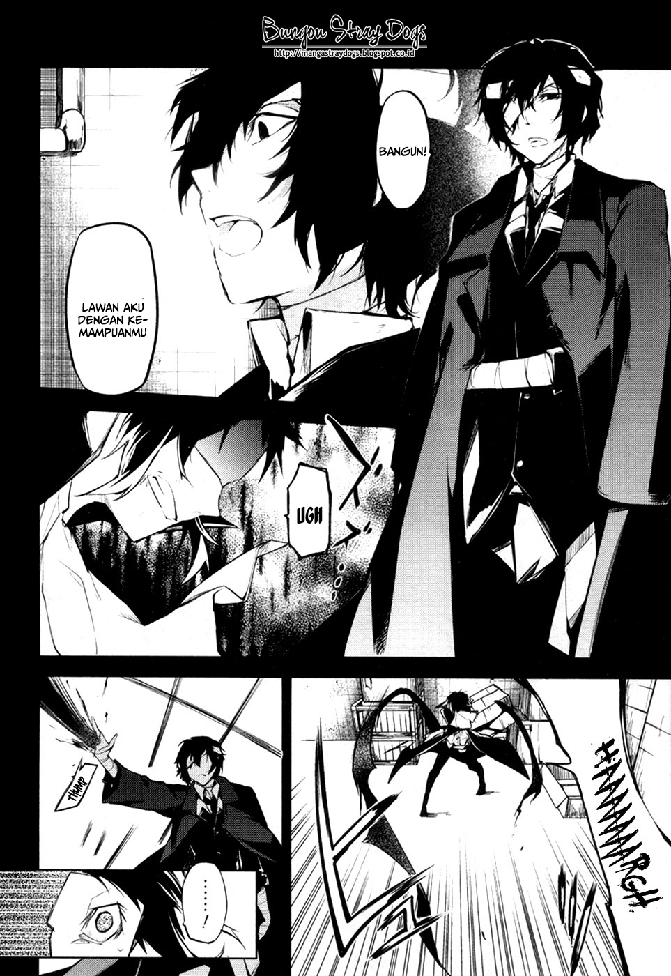 Bungou Stray Dogs Chapter 12-21