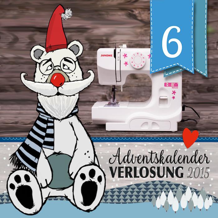 Adventskalender-Türchen Nr. 6.1 - Gewinnt eine Nähmaschine von ...
