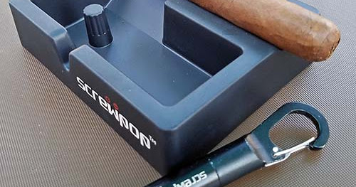 Cigar Product Review: Screwpop® Ashtray