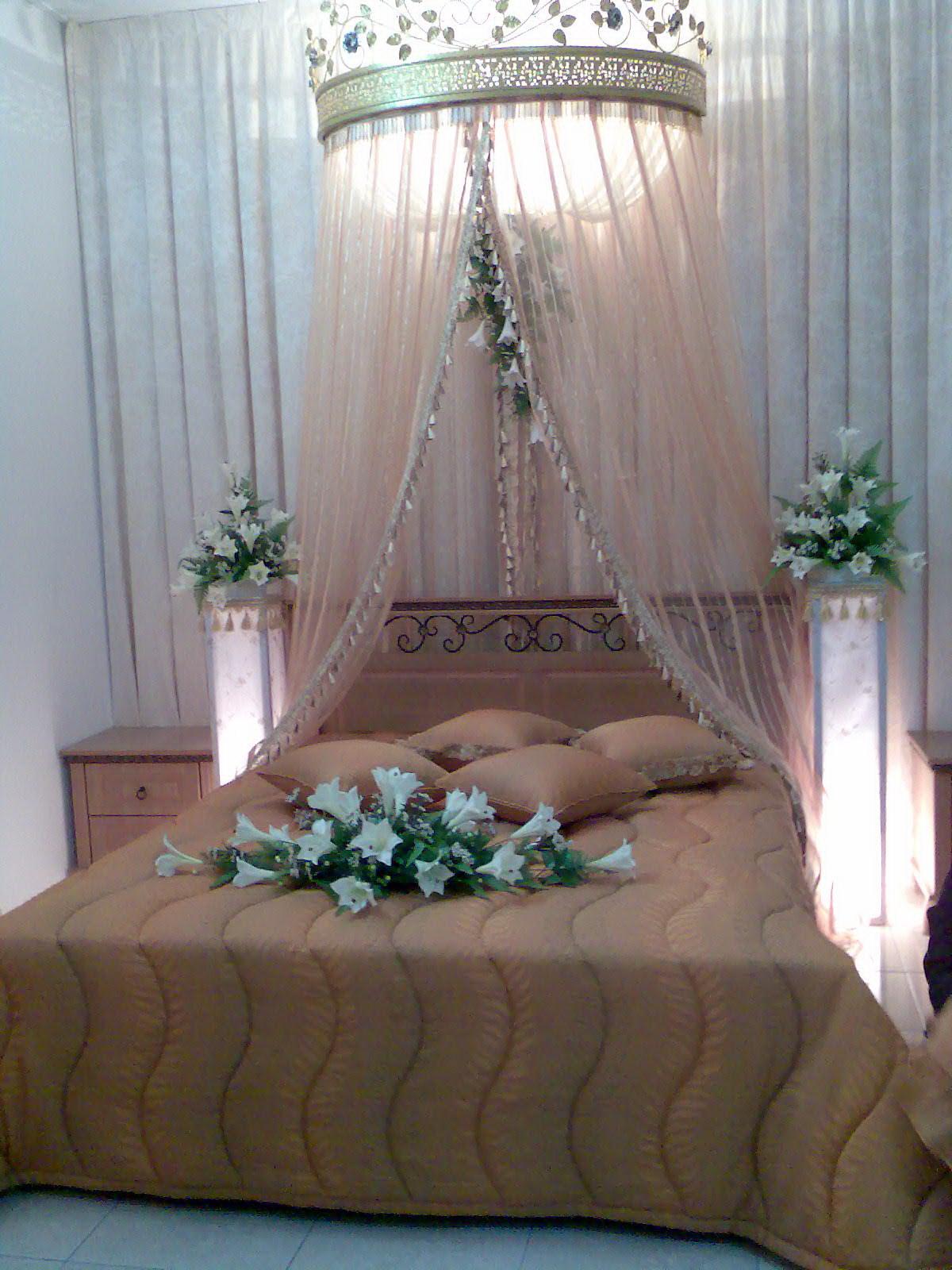 D Astana Kristal Hiasan Bilik Tidur Cadar Mengikut Design