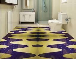 3D floor painting for bathroom flooring design