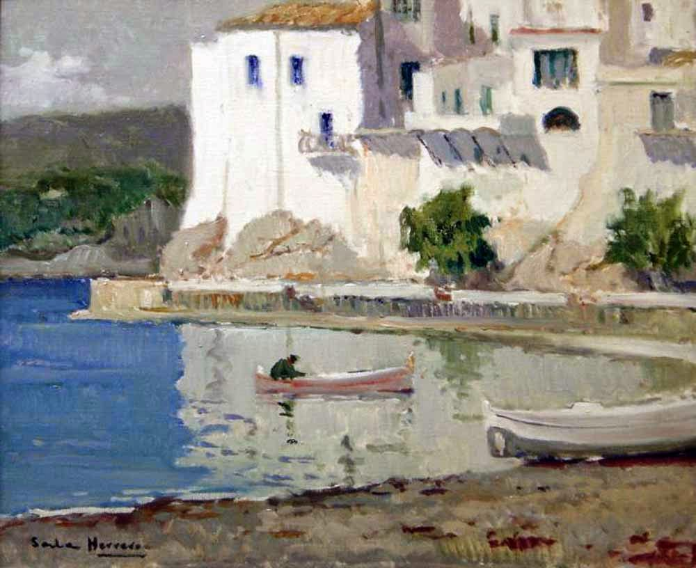 Paintings of Cadaqus Antoni Sala Herrero  Cadaqus