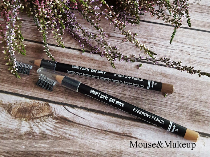 Smart Girls Get More Eyebrow Pencil Blonde nr 10 oraz Medium nr 02