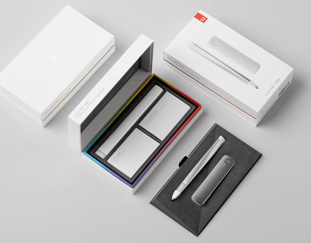Adobe Ink & Slide Packaging Por Character