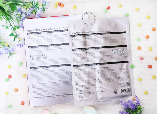 TroiAreuke Bio Cellulose GPS Mask review
