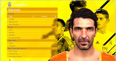 PES 2016 Gianluigi Buffon New Face And Hair By Mohammad Rostami