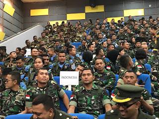 45 Prajurit TNI Melaksanakan Peacekeeping Exercise Shanti Doot-4 2018 di Bangladesh