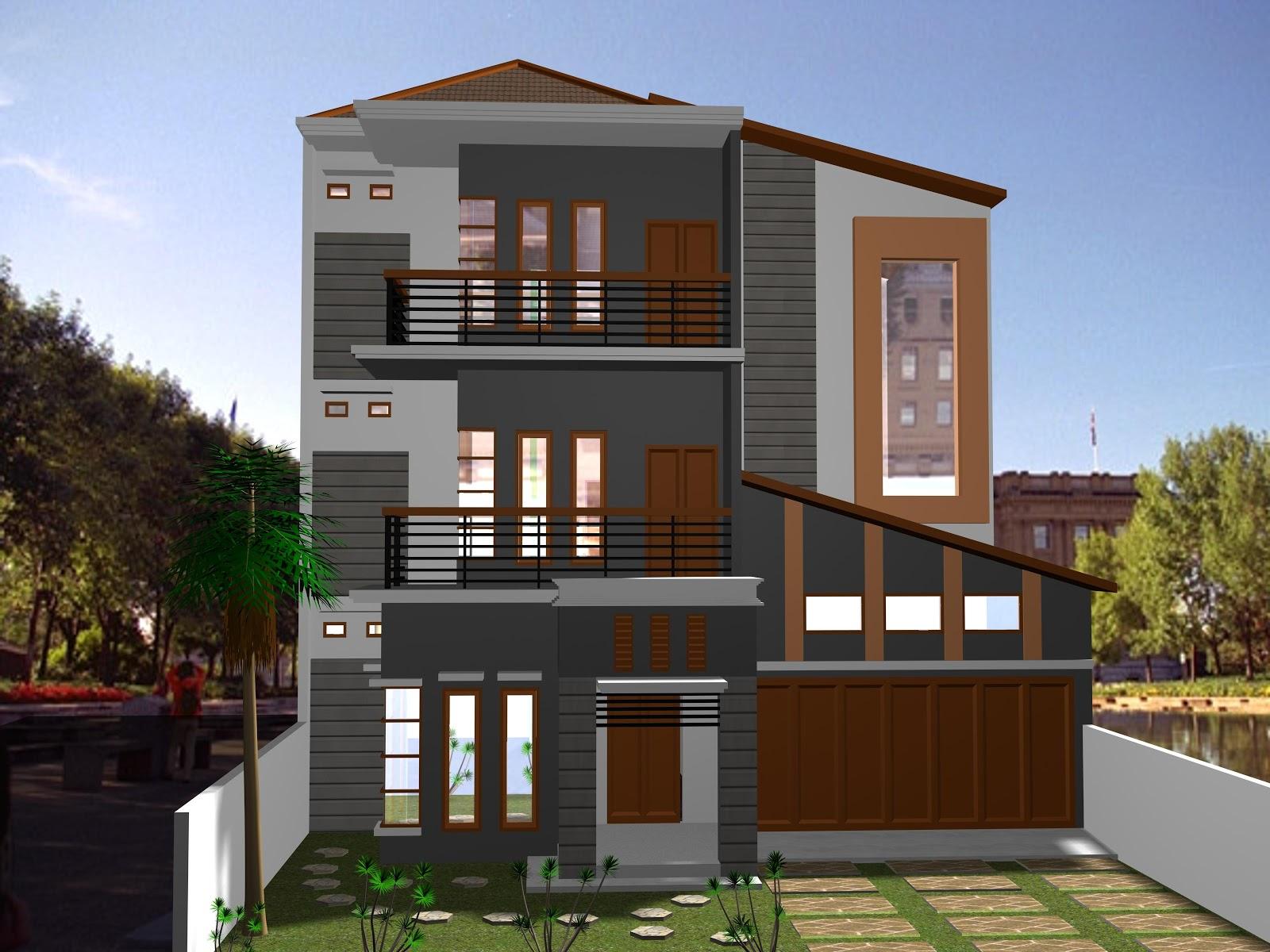 61 Desain Rumah Minimalis 3 Lantai Desain Rumah Minimalis Terbaru