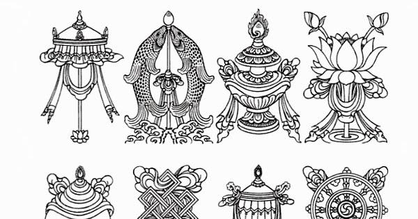 Tibetan Buddhist Symbols Get You Affluence in Life
