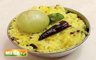 நெல்லிக்காய் சாதம் | ருசியோ ருசி | Pengal Dot Com | Mega Tv