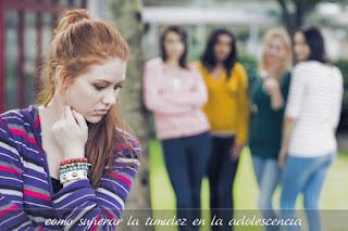 como superar la timidez en la adolescencia