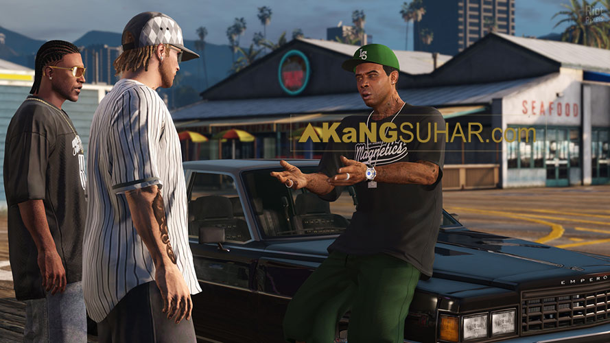 Free download Grand Theft Auto V / GTA 5 (Lolly Repack) Full Version terbaru gratis for windows PC, latest update full version repack HD Google drive www.akangsuhar.com