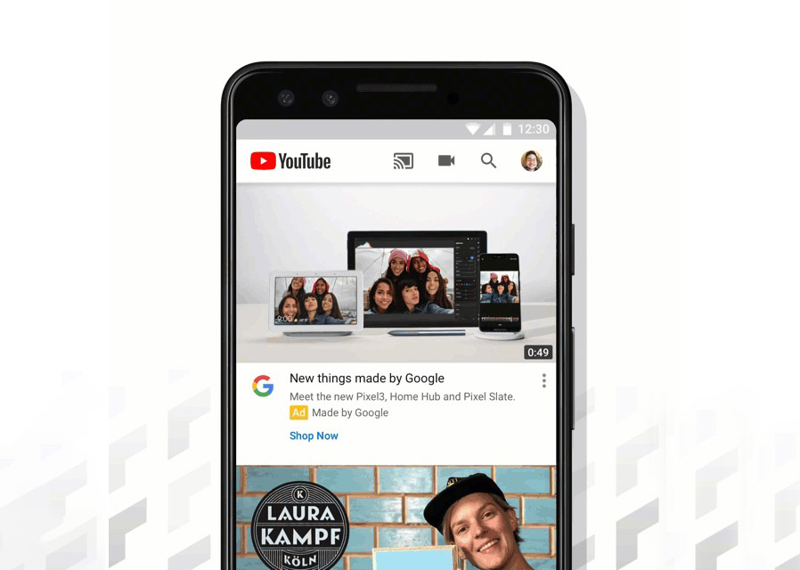 YouTube's mobile apps will now autoplay videos on the Home tab by default