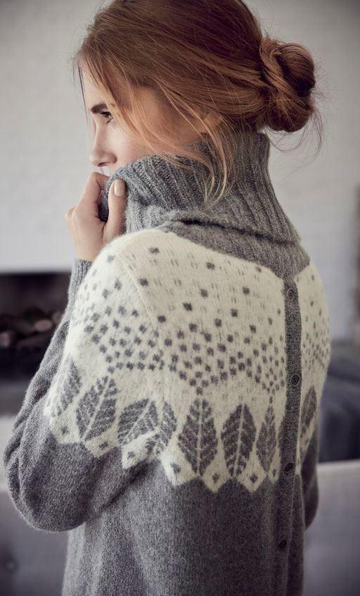 best cozy grey sweater