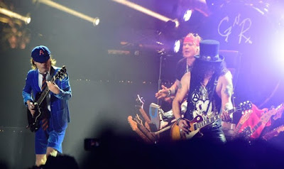axl rose angus young slash