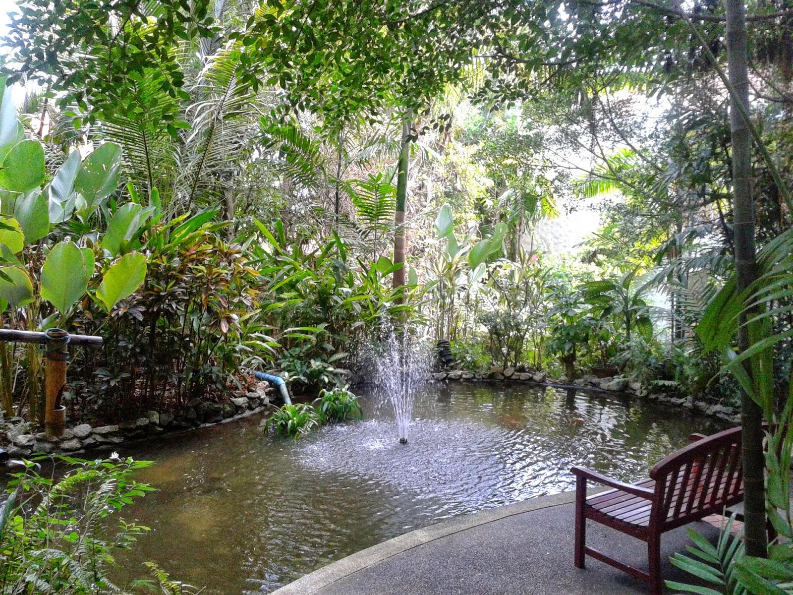 Gartenanlage des Imperial Samui Beach Resort