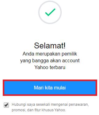 Cara Buat Email Yahoo | Daftar Yahoo Mail Indonesia Lengkap Dengan Gambar