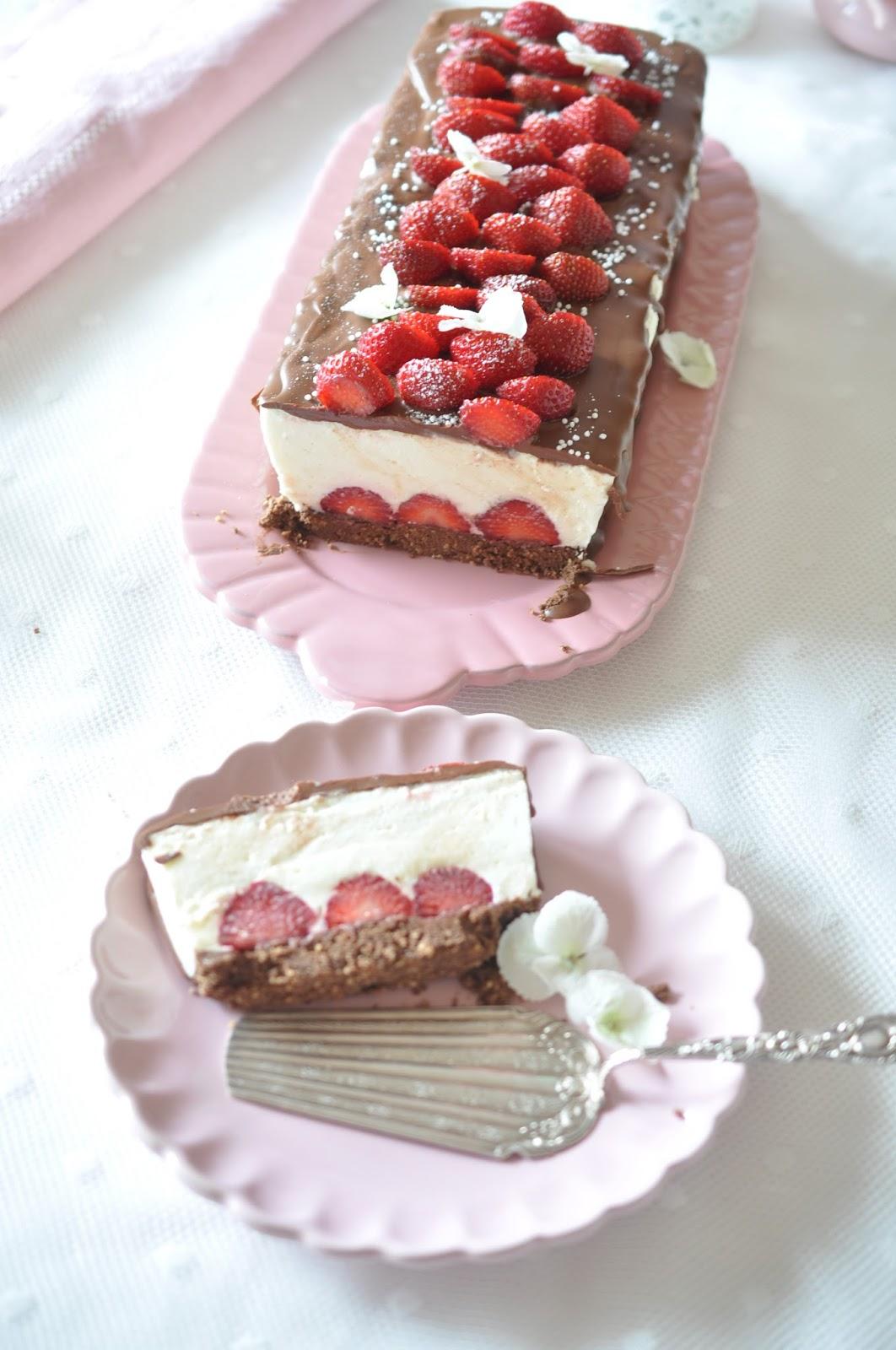 Caketime By Tamaris No Bake Schoko Erdbeer Kastenkuchen