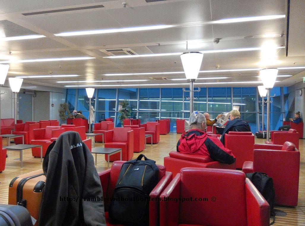 1st class lounge for the Fernbahnhof, Frankfurt, Germany
