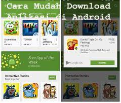 Cara Mudah Download Aplikasi di Android 1