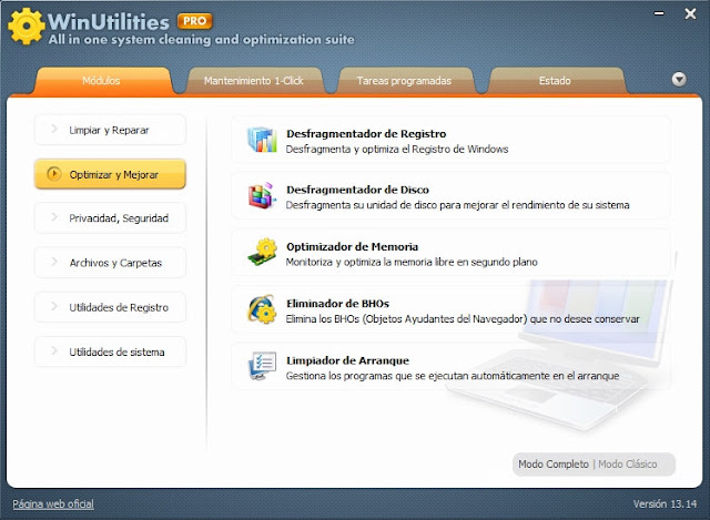 WinUtilities Professional v13.14 Final en Español