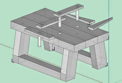 Outstanding Jax Design One 2X4 Workbench Creativecarmelina Interior Chair Design Creativecarmelinacom
