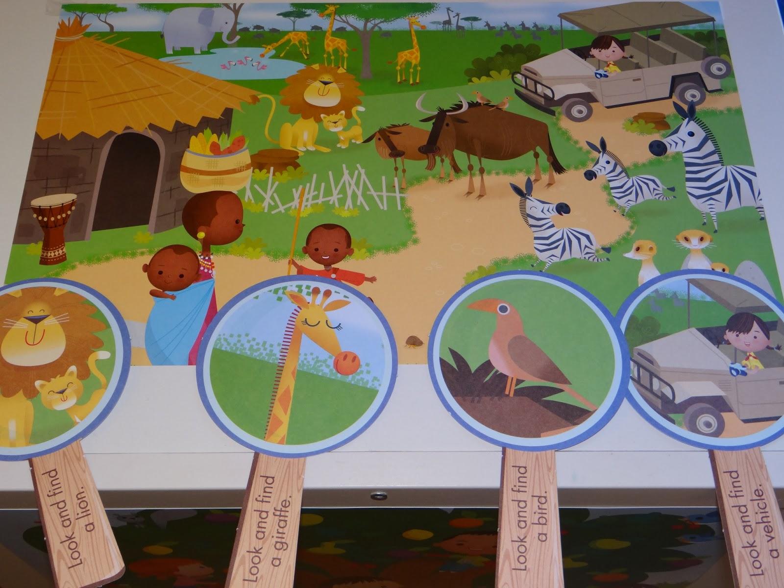 Whole Child Preschool Safari Fun