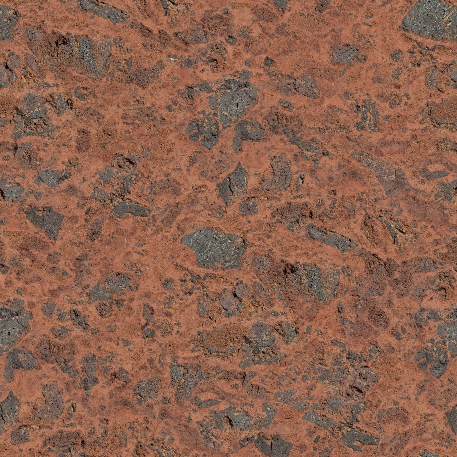 High Resolution Seamless Textures: Red stone wall texture