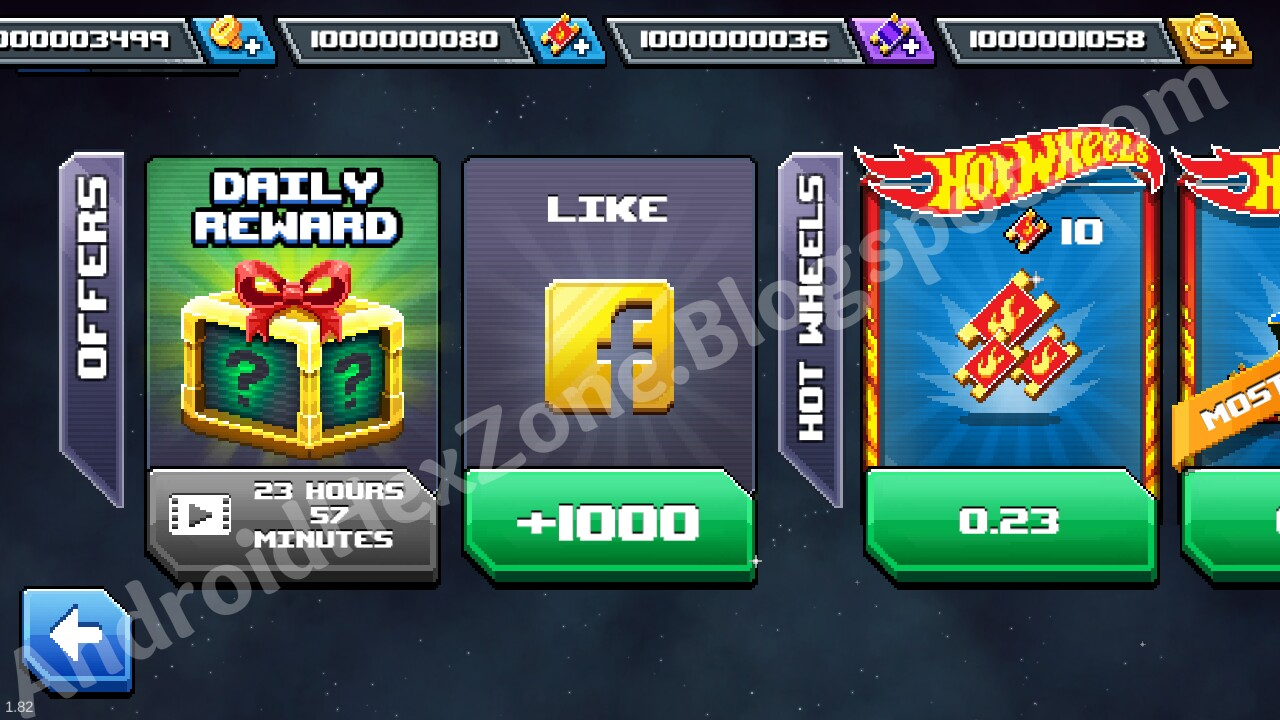 Drive Ahead Android Hacked Save Game unlimites coins bolts tickets wheels androidhexzone.blogspot.com
