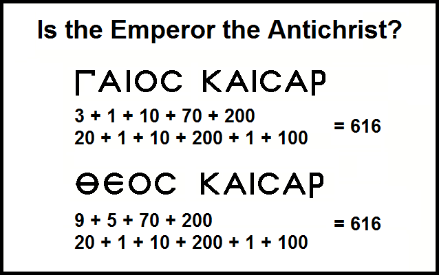 how to identify the antichrist number