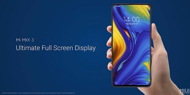 شاومى تعلن رسميا عن هاتف Xiaomi Mi Mix 3 مع أربع كاميرات (الاسطورة المنتظرة)