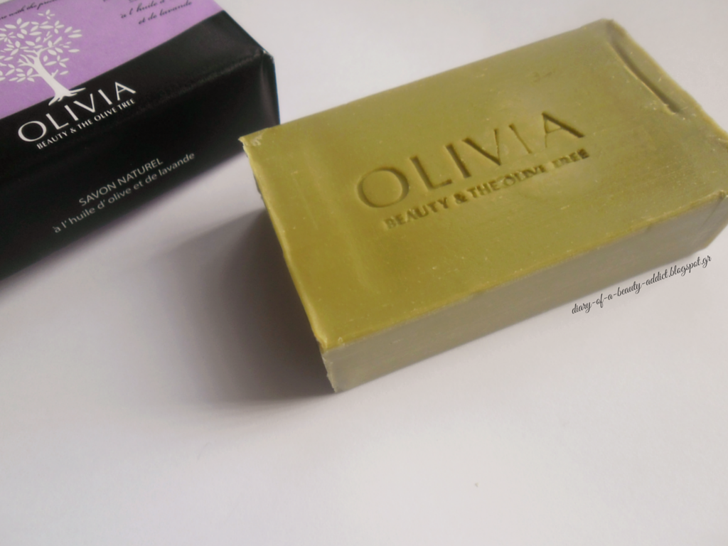 Papoutsanis Olivia Soap Olive Oil & Levander