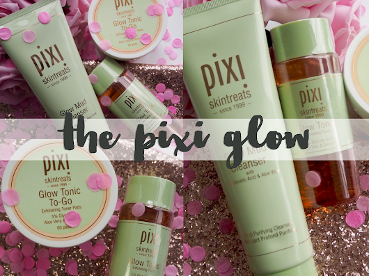 The Pixi Glow skincare review and giveaway